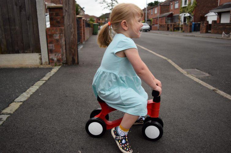 Toddler riding Toddlebike2