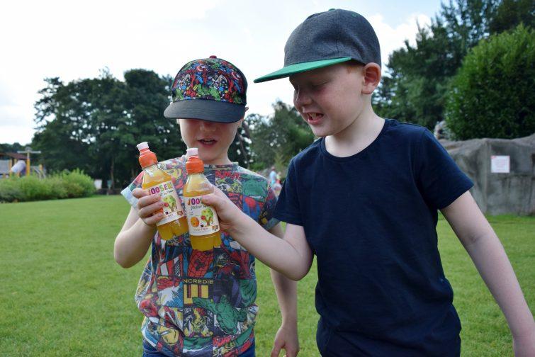 Boys toast with Joosed