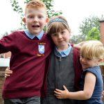 back to school siblings