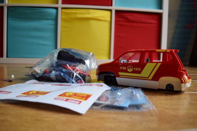 PLAYMOBIL Fire car kit