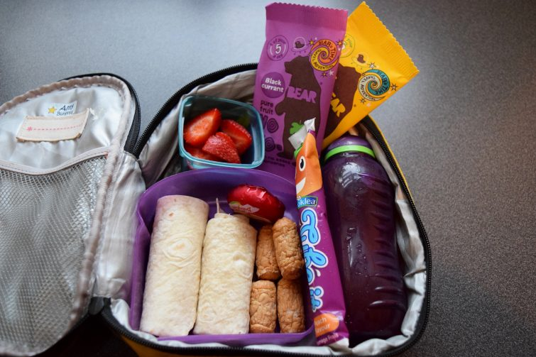 packed lunch BEAR
