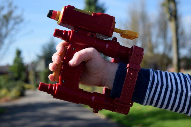Iron Man handle