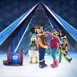 Disney on Ice - Micky & Minnie in Frozen costume