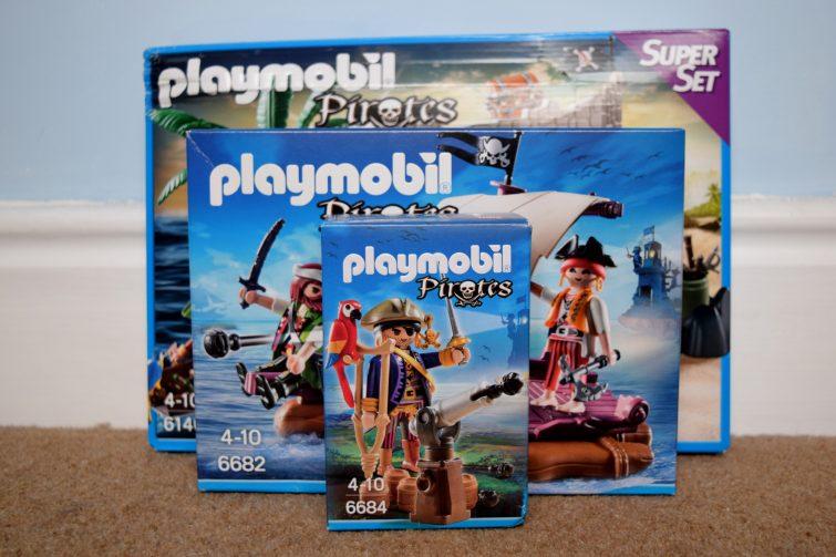 PLAYMOBIL PIrates sets