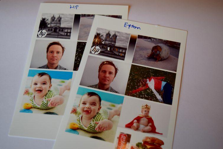 Photo printing comparison