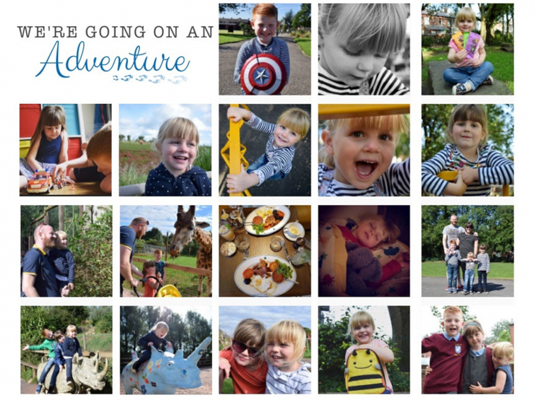 We're going on an adventure - Instagram feed
