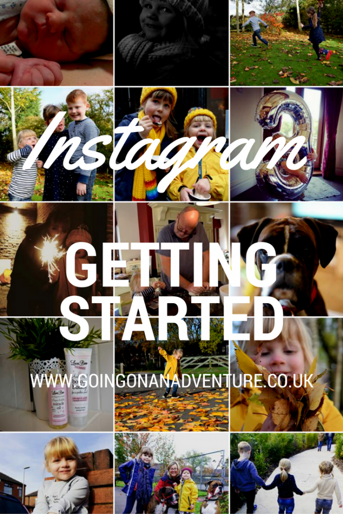 Getting started on Instagram
