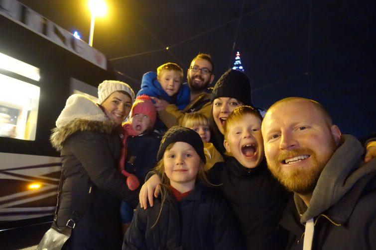 Team Butler & Team Burgess at Blackpool Illuminations