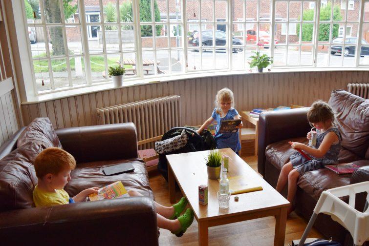 Kids at Aqua Nurture