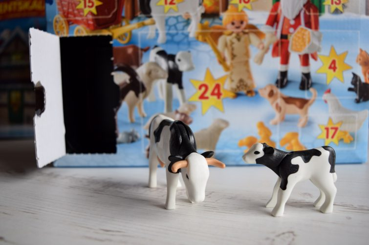 PLAYMOBIL Advent Calendar - cows