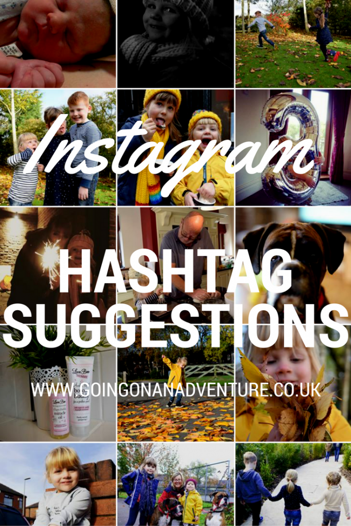 """Hashtags for Instagram - """"We're going on an adventure"""