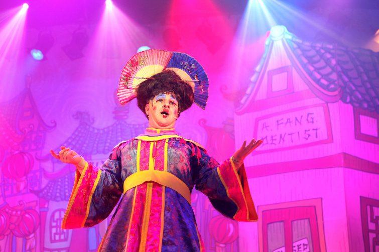 Aladdin at The Epstein Theatre - Widow Twanky