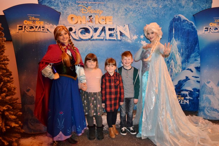 Disney on Ice - meet and greet