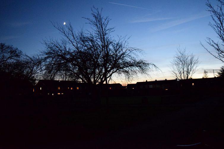 night time in the park - Energizer Secret Garden Adventure