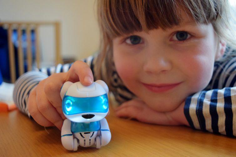 Teksta Micro Pets - teksta robotic puppy