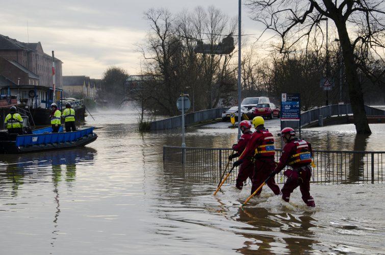 Flood warning - Flooding in York
