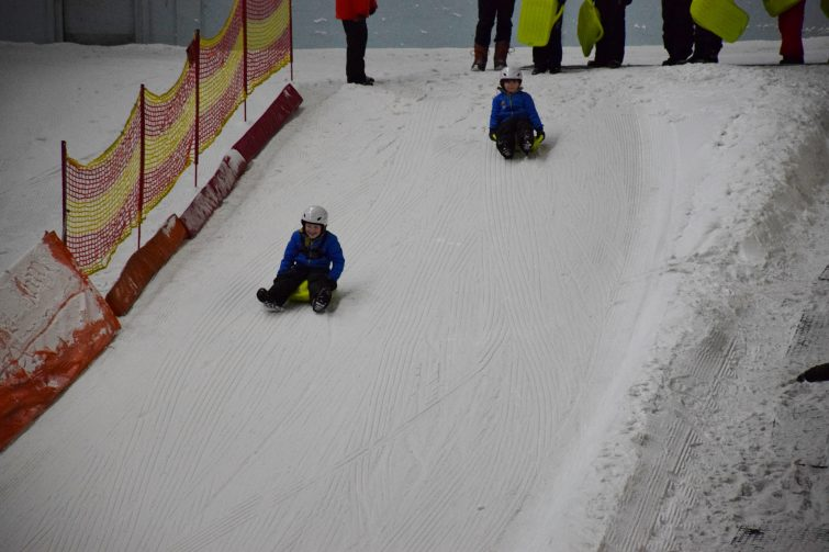 Chill Factore - sledge race