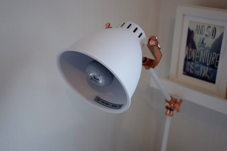 Cox & Cox desk lamp