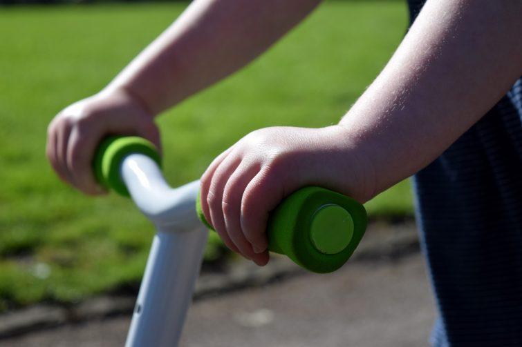 Y Velo Balance Bike padded handle bars