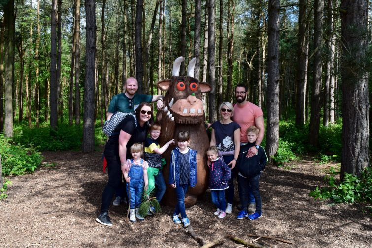 Butler / Burgess day out hunting for the Gruffalo at Delamere Forest