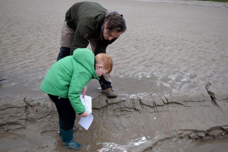 Identifying bird tracks with Ben McNutt, Woodsmoke