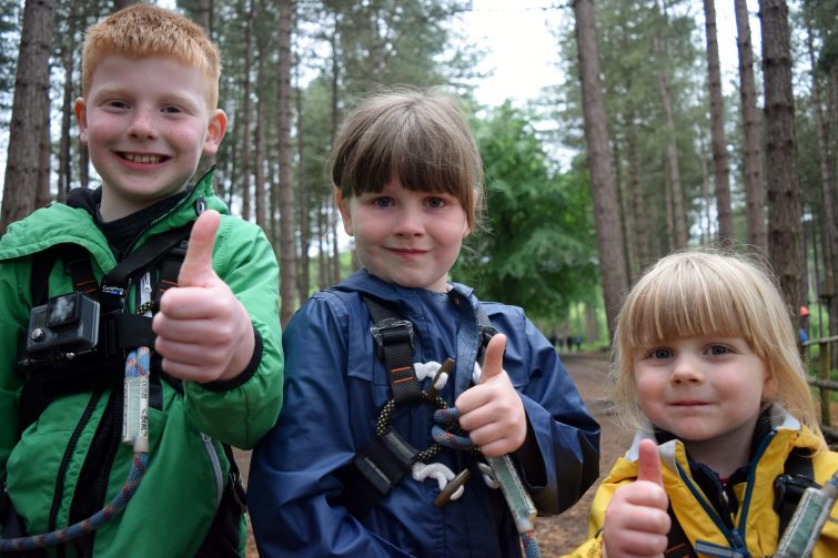We're going on an adventure at Go Ape, Delamere Forest