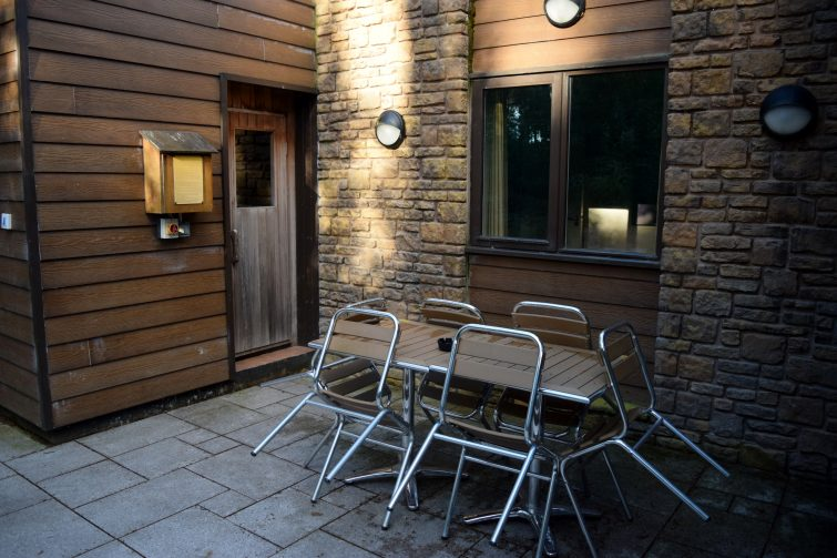 Outside area - Three bed Executive Lodge at Center Parcs, Whinfell Forest