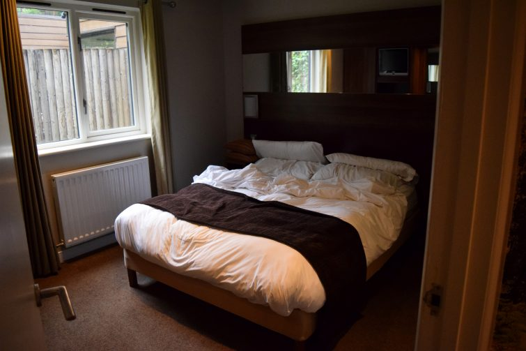 Double bedroom - Executive Lodge at Center Parcs, Whinfell Forest