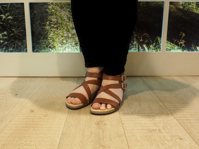 Hotter shoes - tan Sun Sandals