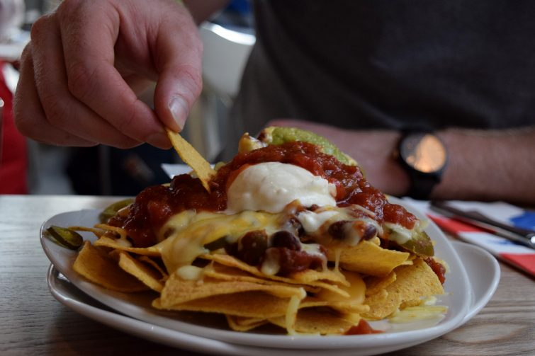 Nachos at Hucks, Center Parcs - Whinfell Forest