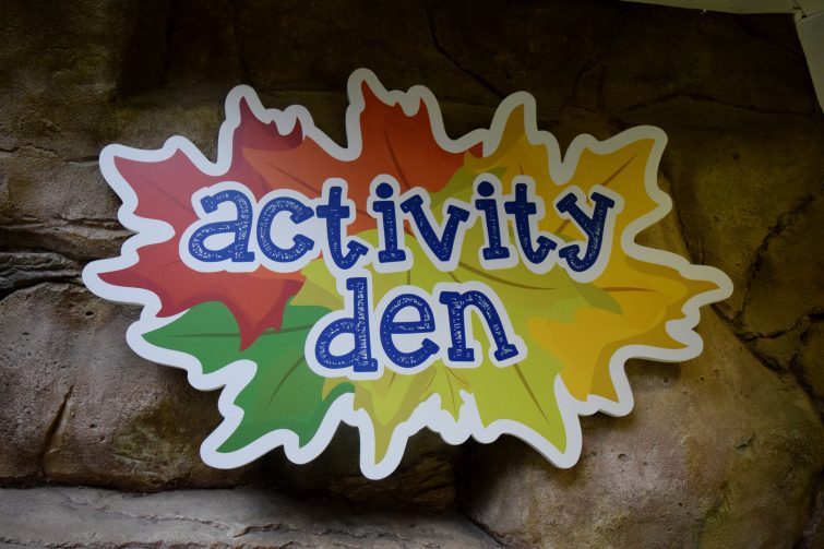 Activity Den at Center Parcs Whinfell Forest