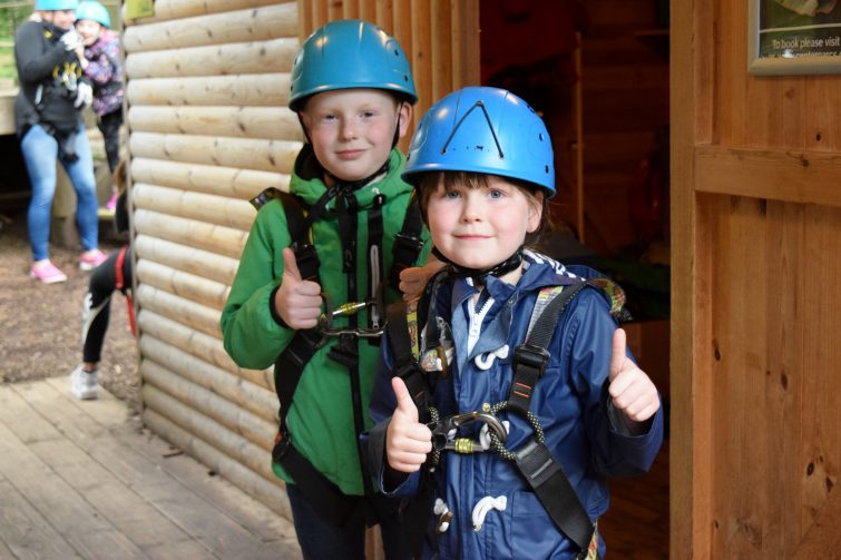 Tree Top Adventure at Center Parcs, Whinfell Forest