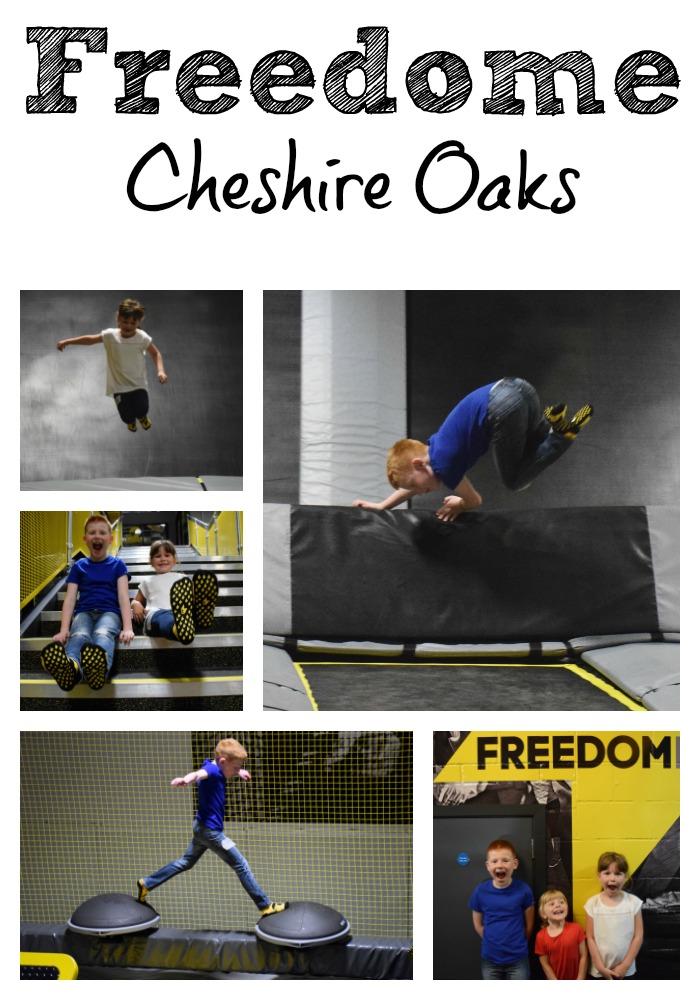 Freedome Trampoline Park - Cheshire Oaks