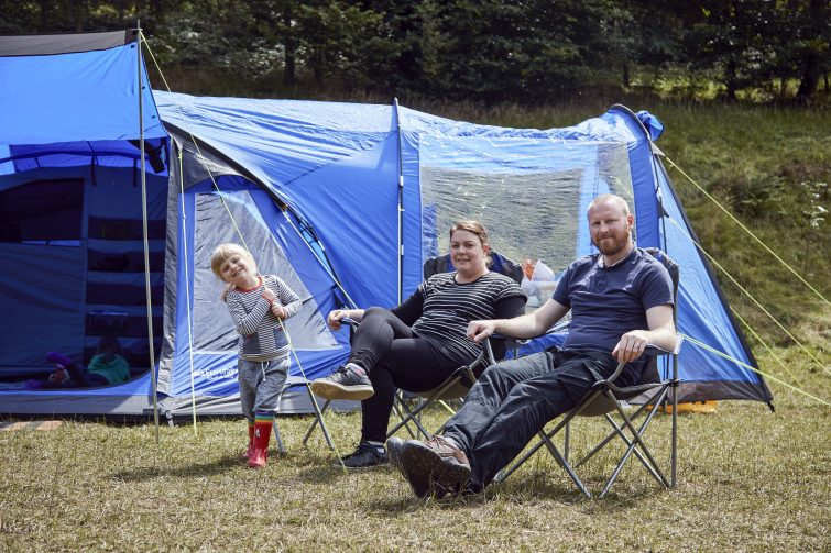 EUROHIKE Bowfell 600 Tent with extension / oorch