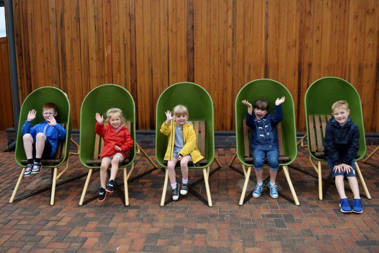 The Ice Cream Farm - wheelbarrows