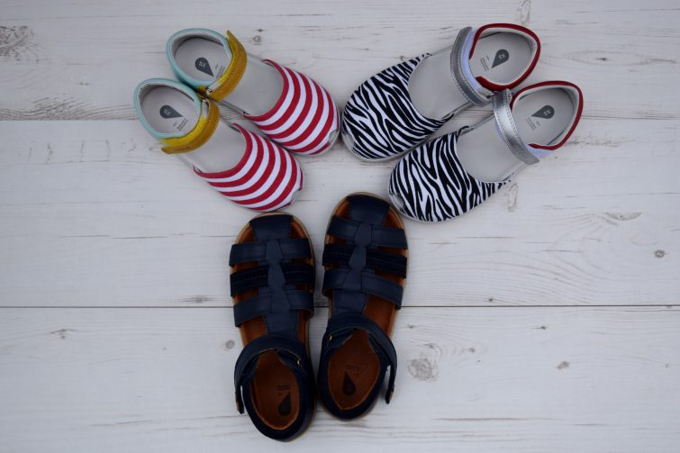 Bobux sandals for girls and boys