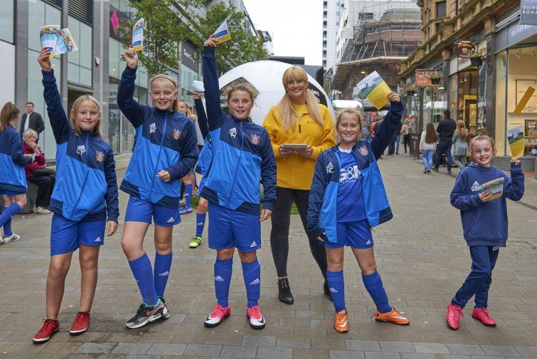 Farsley Celtic Girls FC - Aviva Community Fund