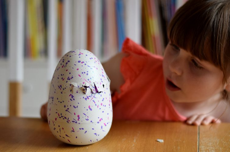 If you look after your Hatchimal it will hatch by itself.