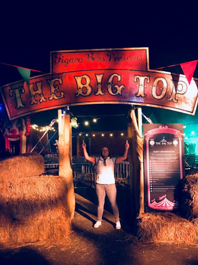 Thorpe Park Fright Nights - The Big Top