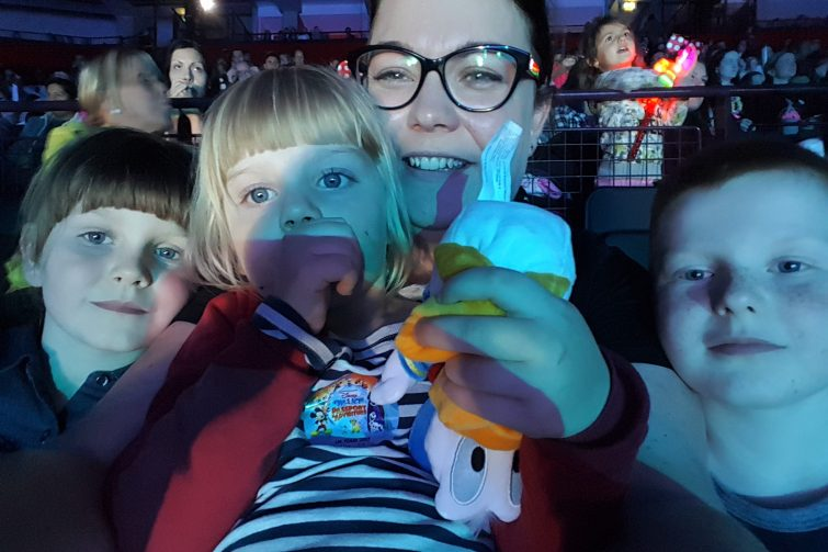 We're going on an adventure at Disney on Ice, Manchester Arena