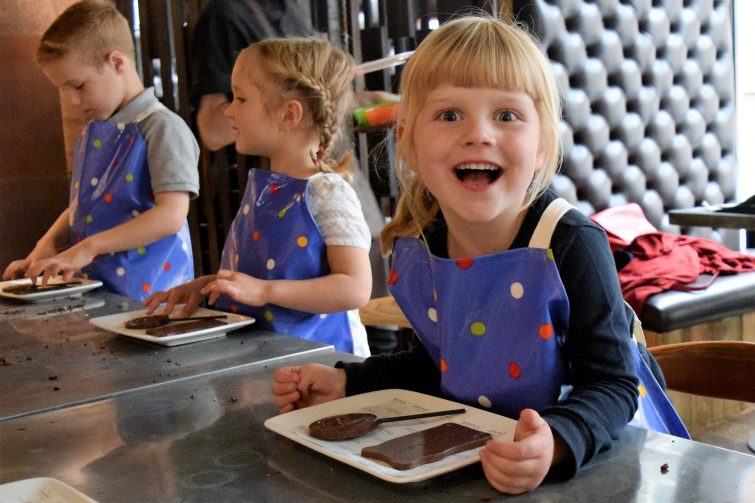 Hotel Chocolat Children's Chocolate Workshops - chocolate decorating