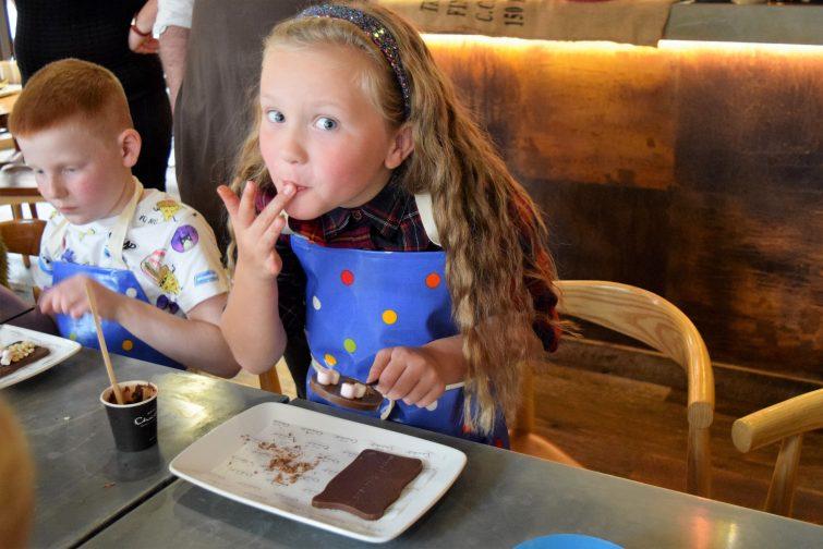 Hotel Chocolat Children's Chocolate Workshops - a cheeky taste