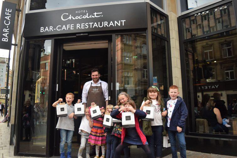 Hotel Chocolat Children's Chocolate Workshops - Leeds Chocolate Metropolis