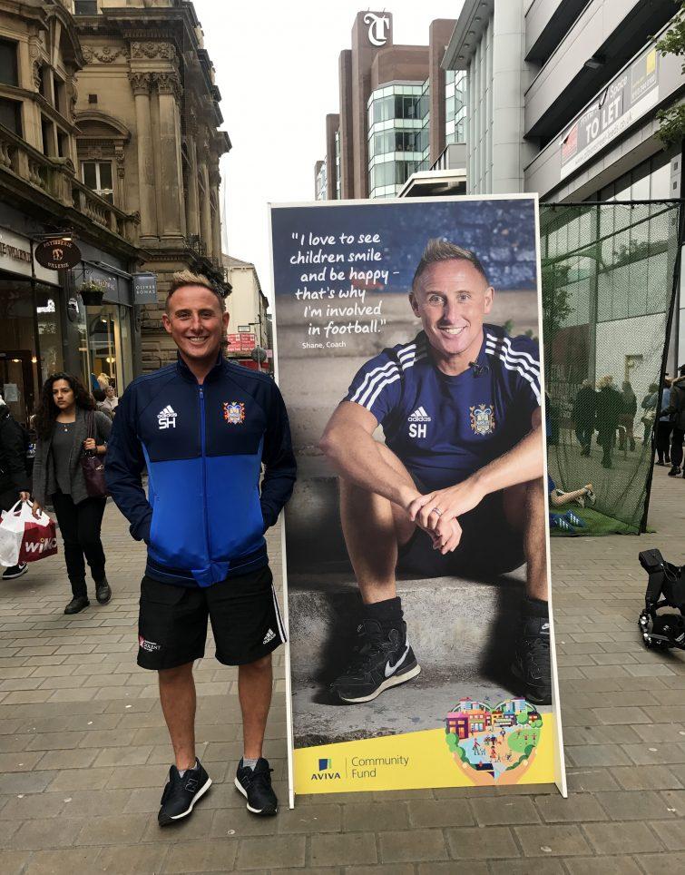 Farlsey Celtic Girls FC Coach, Shane
