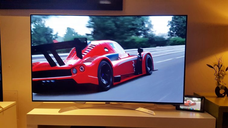 Forza Motorsport on the Xbox One X