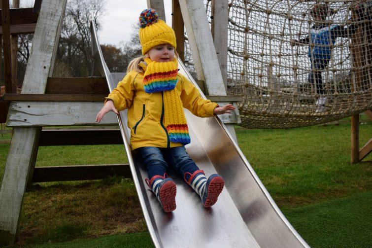Free outdoor play area at Stockeld Park