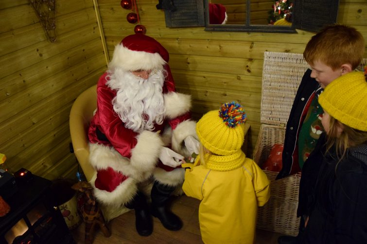 Father Christmas - Christmas Adventure at Stockeld Park