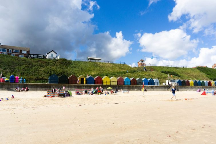 Mundesley beach - Scrapbook Blog