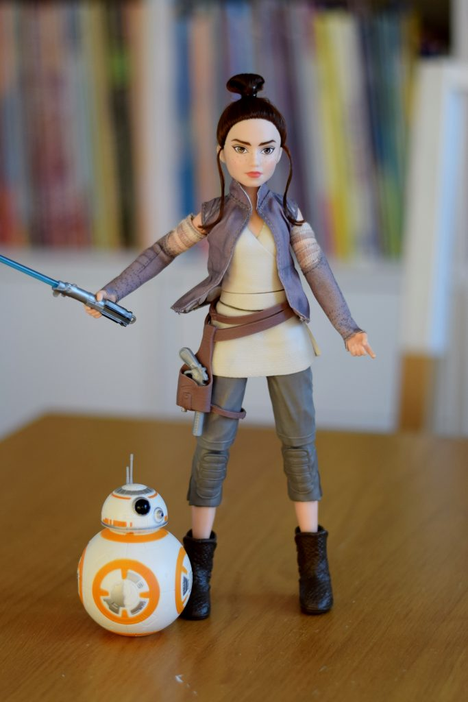 Star Wars Forces of Destiny Rey of Jakku and BB-8