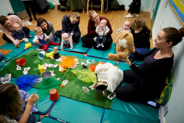 Twinkleboost - Peter Rabbit story session with Laura Harding